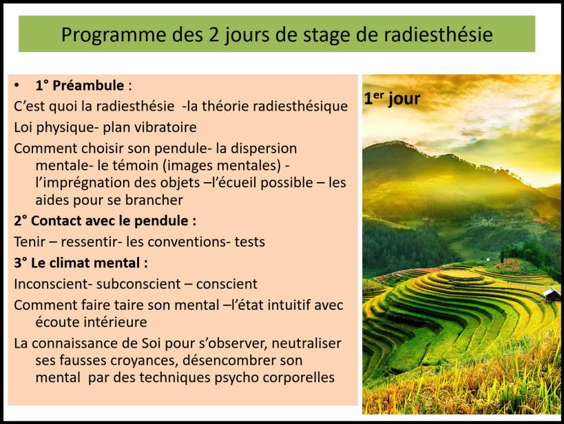 RadiesthésieJour1